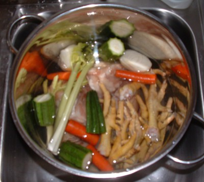 Chicken Stock Ready to Cook